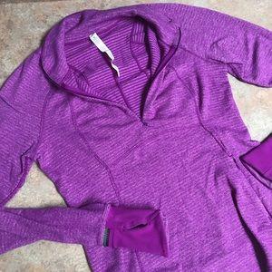 Lululemon Run Briskly half zip pullover